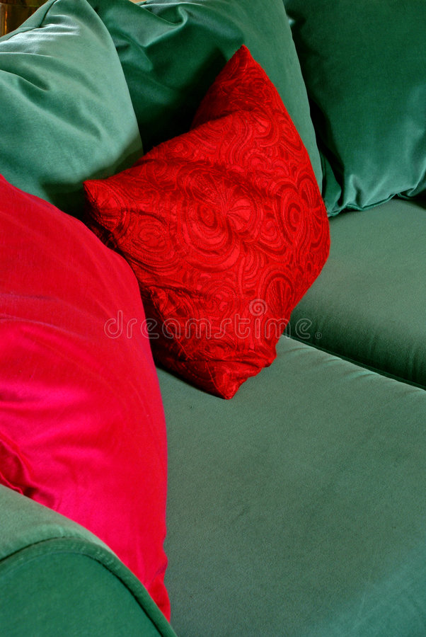 comfy sofa 2 arkivbilder