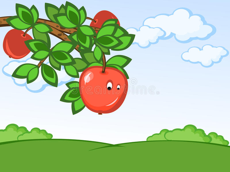 Download Comic Apple Stock Photography - Image: 14294382