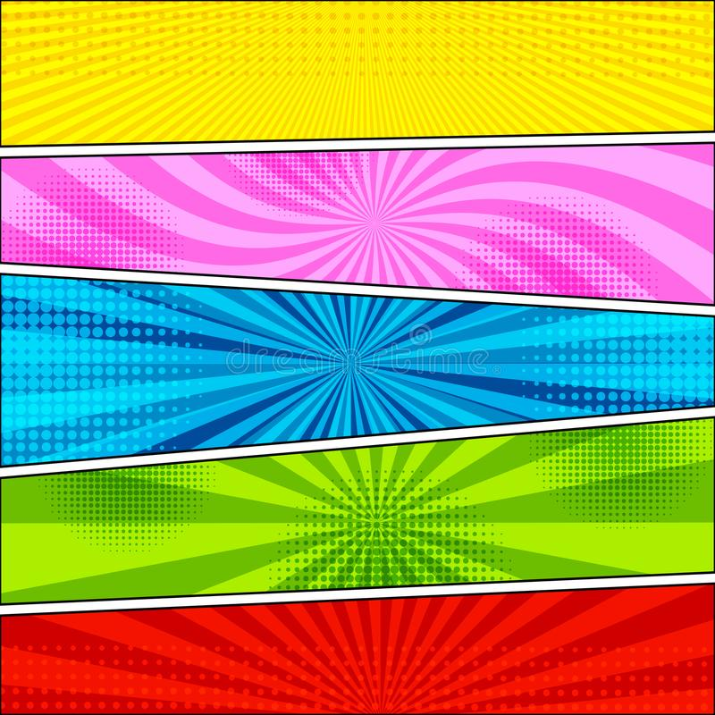 Comic book background stock vector. Illustration of color - 108188650