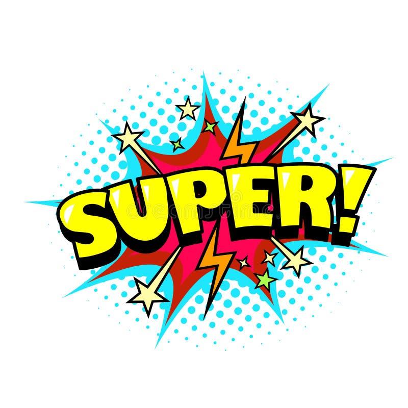 comic book doodle vector background  super word speech