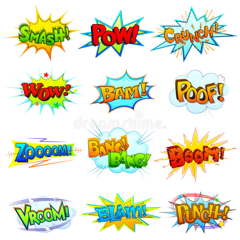 Free Comic Book Explosion Royalty Free Stock Photos - 39773358
