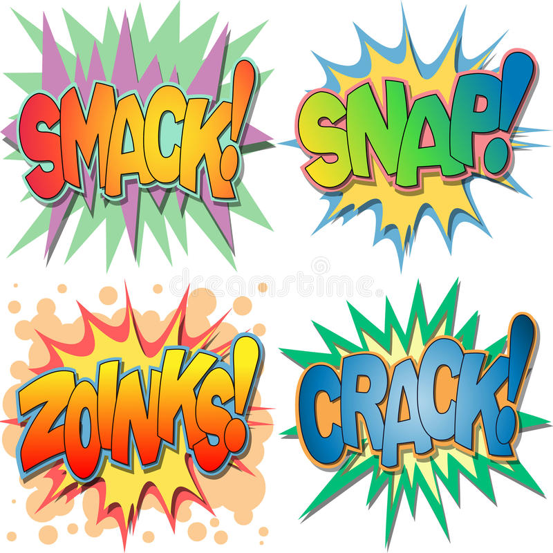 Free Comic Book Illustrations Royalty Free Stock Images - 25418969