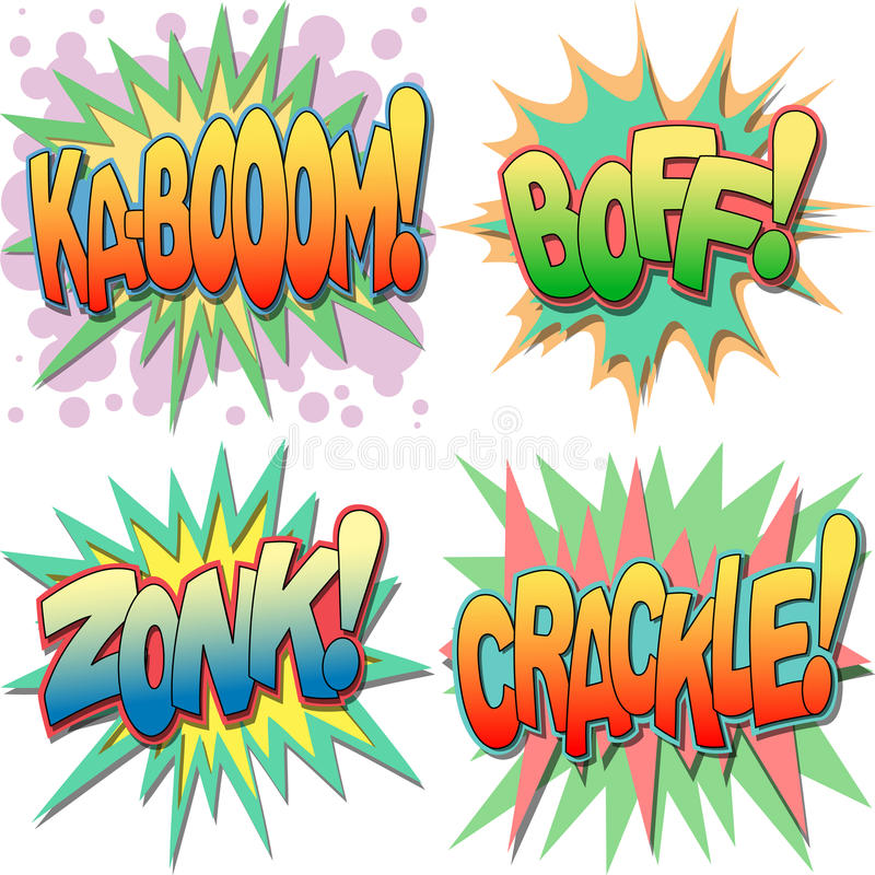 Download Comic Book Illustrations Stock Photo - Image: 25502350