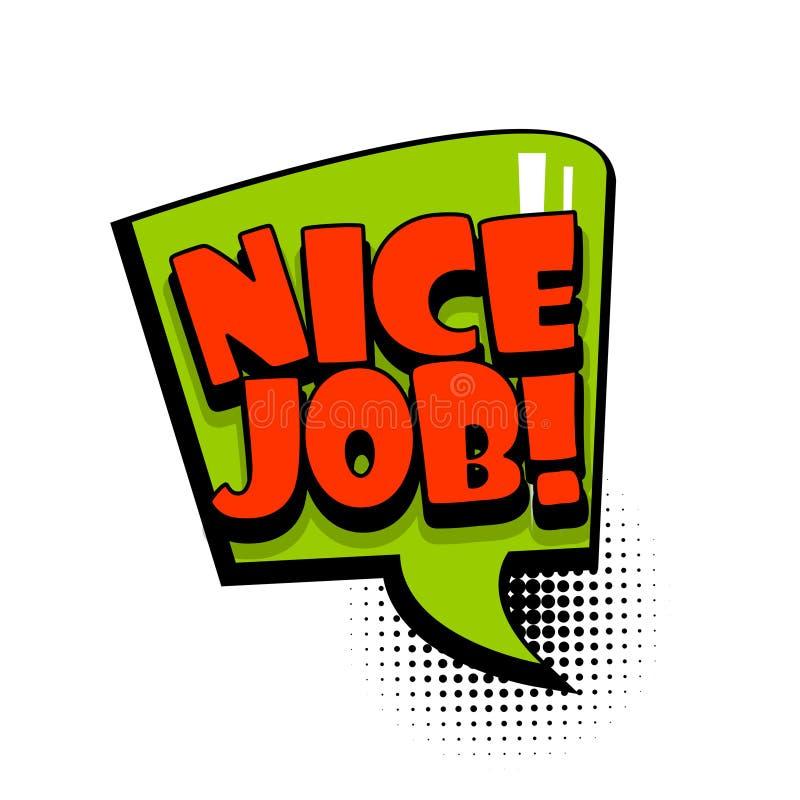 Nice Job Stock Illustrations 2 232 Nice Job Stock Illustrations Vectors Clipart Dreamstime