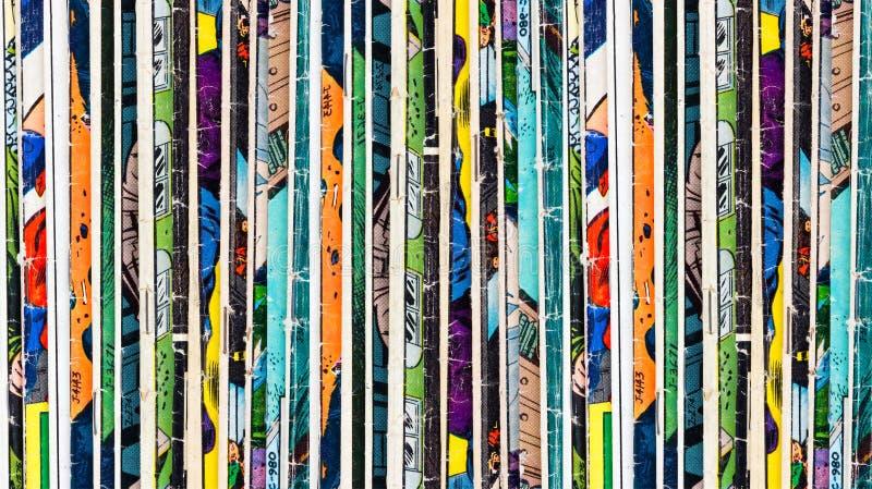 Comic-Buch-Hintergrund lizenzfreie stockfotos