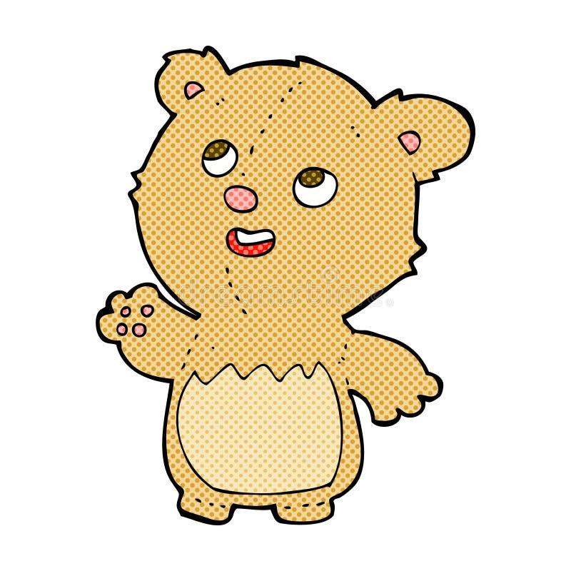 Free Comic Cartoon Happy Little Teddy Bear Royalty Free Stock Photo - 52945925