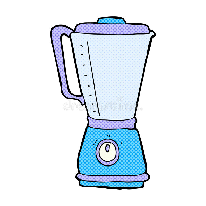 Cartoon Hand Mixer ~ Comic cartoon kitchen blender stock illustration
