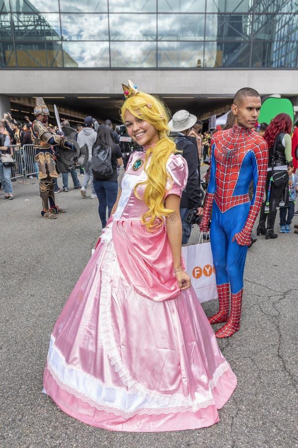 Comic Con NYC 2019 royalty free stock photos