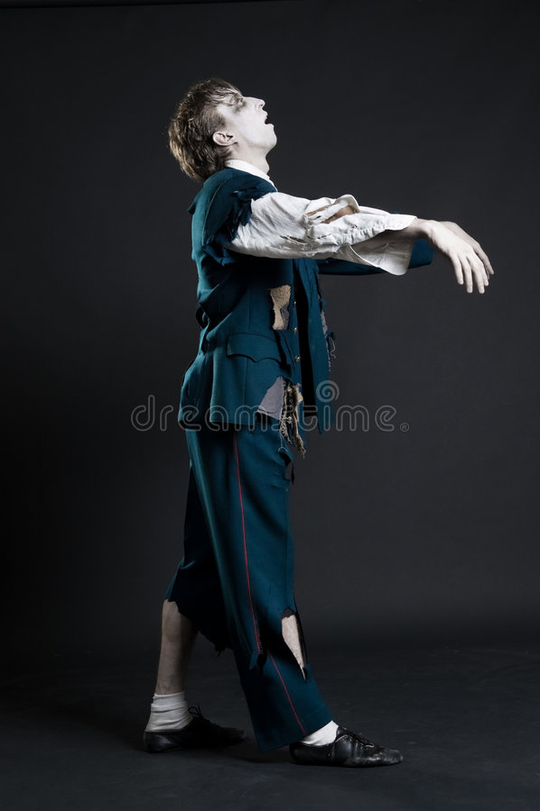Download Comic deadman walking stock image. Image of portrait, alive - 7466649