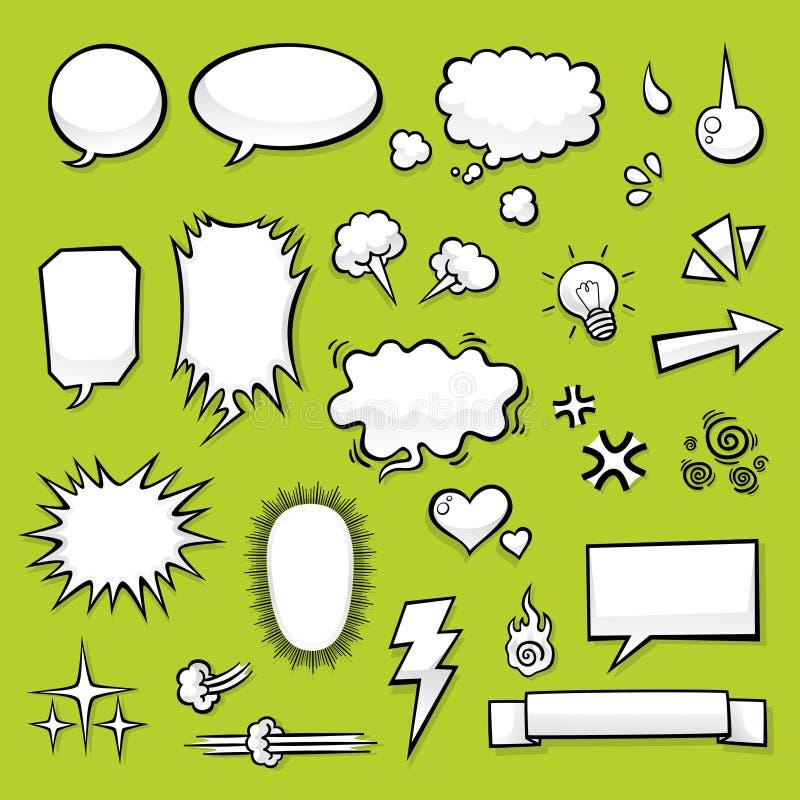 Comic Elements vector illustration