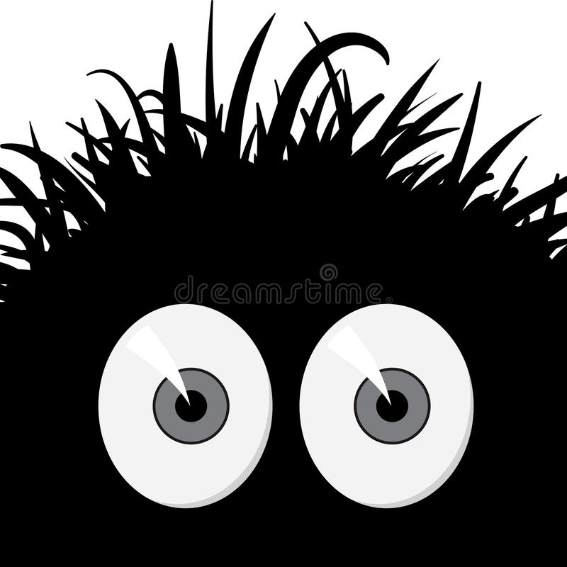 Download Comic Frightened Creature - Vector Illustration Stock Vector - Image: 23951346