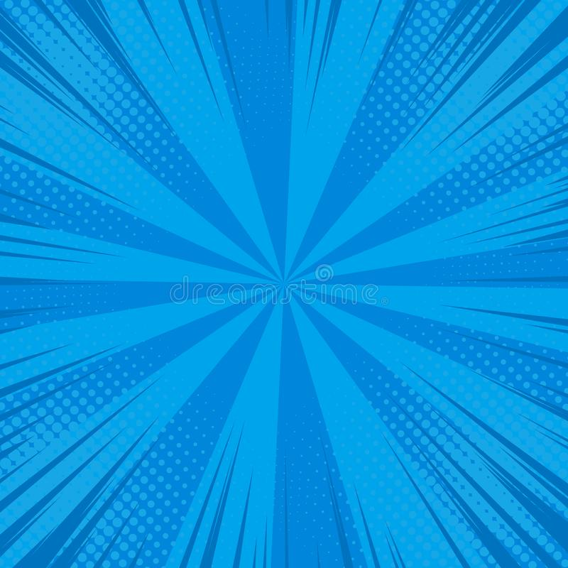 Comic pop art background vector illustration