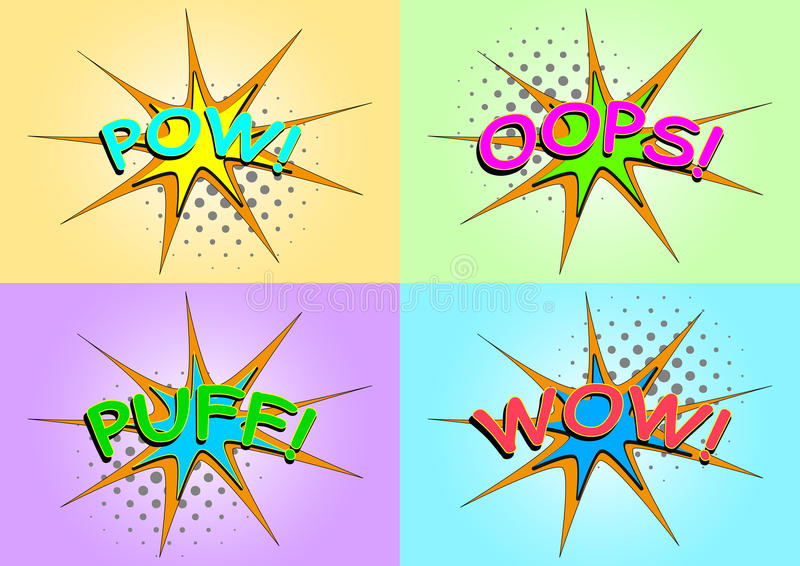 Download Comic text stock vector. Image of sign, comic, graphic - 29489309