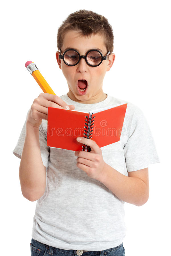 Free Comical Boy In Geek Glasses Stock Photo - 11564530
