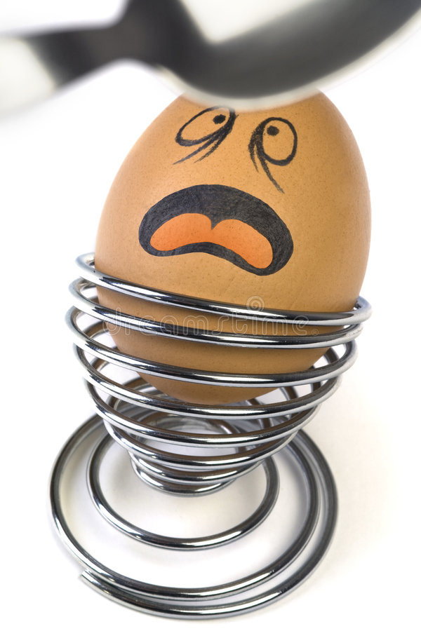 Comical Egg stock images
