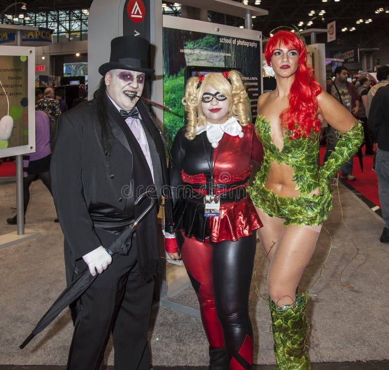 ComicCon 2014 zdjęcie stock
