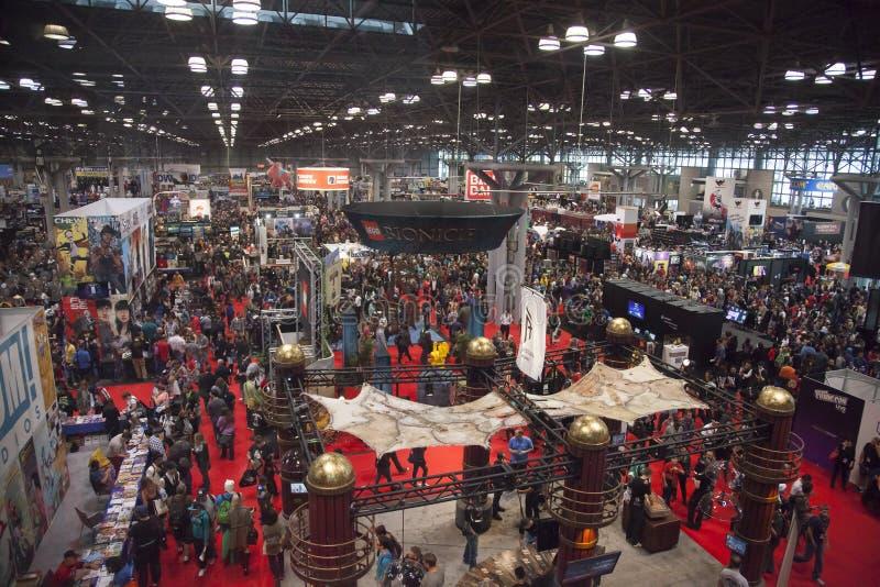 ComicCon 2014 obrazy royalty free