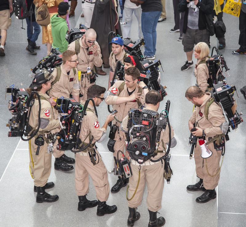 ComicCon 2014 fotografia de stock