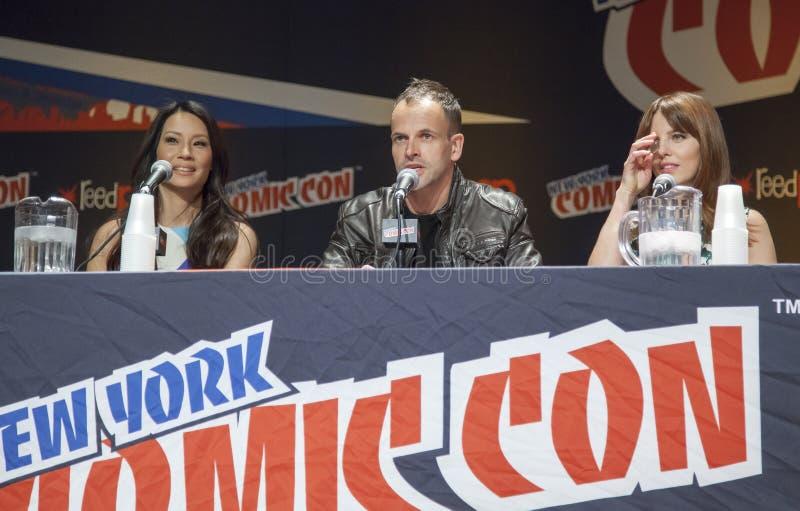 ComicCon 2014 foto de stock