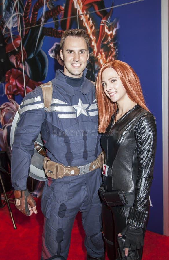 ComicCon 2014 zdjęcia stock