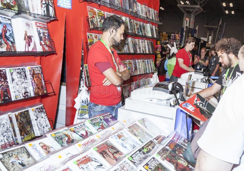 ComicCon 2015 photos libres de droits