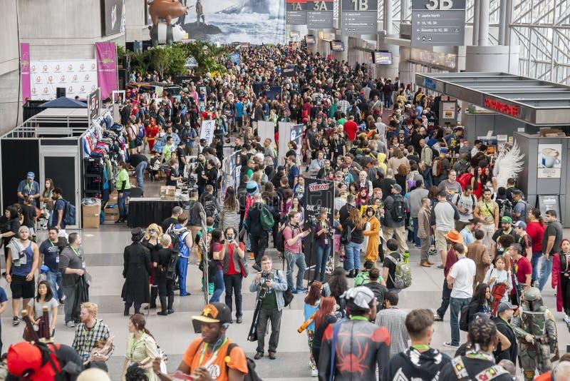 ComicCon 2015 photo libre de droits