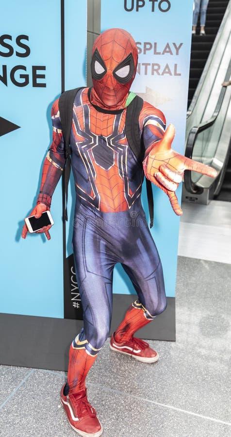 ComicCon NYC 2018 royaltyfri fotografi