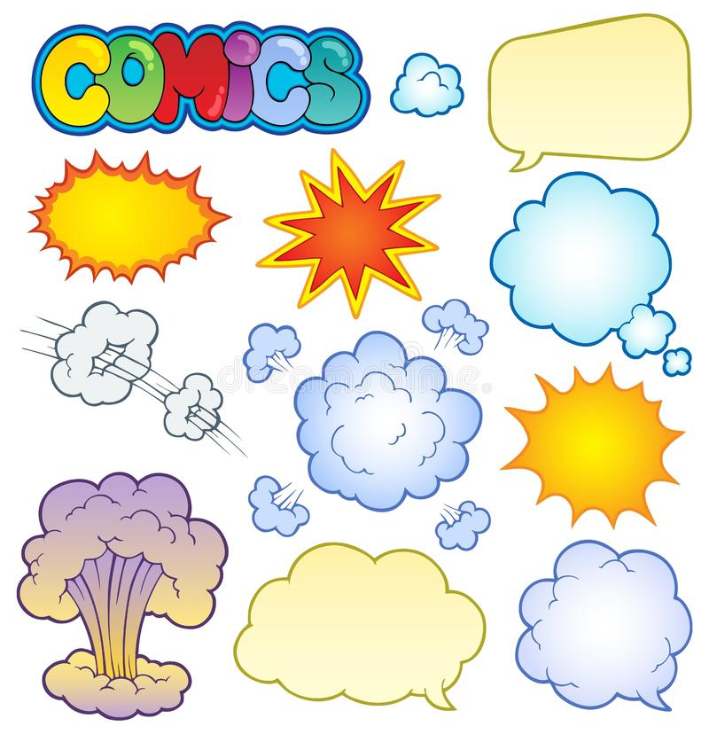 Download Comics Elements Collection 1 Stock Vector - Image: 24726365
