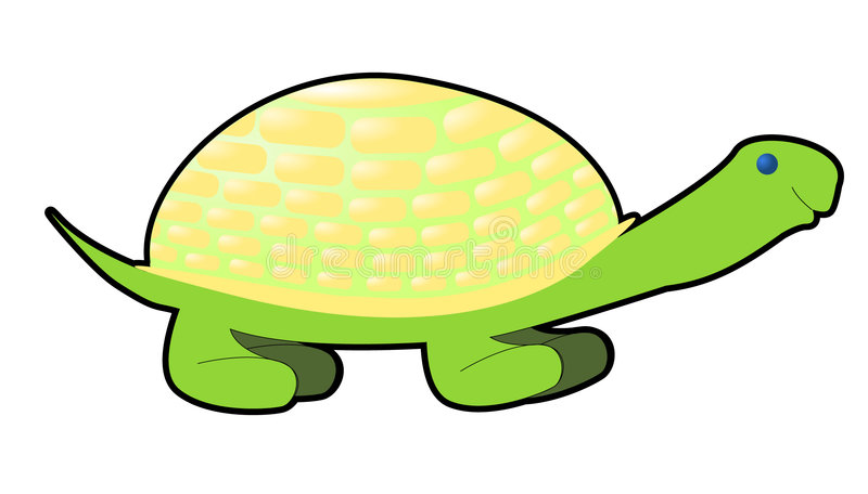 Download Comics turtle stock vector. Image of animal, vector, tortoise - 5885912