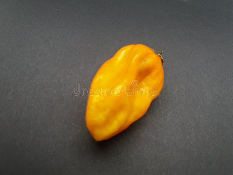 Comida amarilla de las verduras de la pimienta del chile picante imagen de archivo