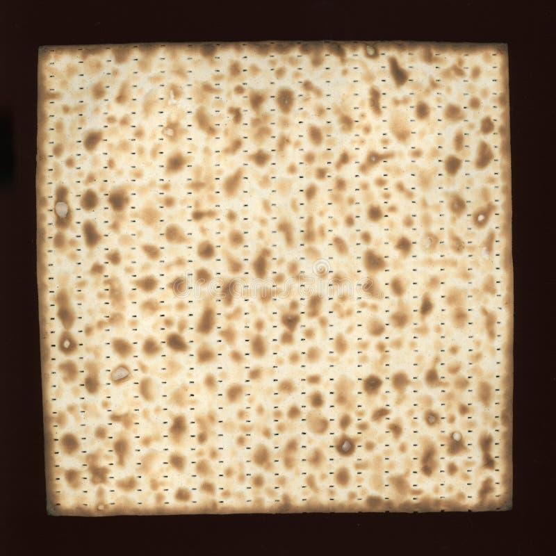 comida cocida del pan ácimo del matzah imagenes de archivo