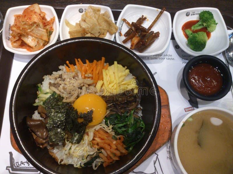 Comida coreana imagenes de archivo