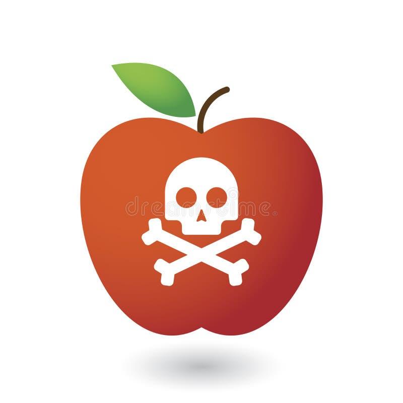 Comida de Apple y concepto de la salud foto de archivo libre de regalías