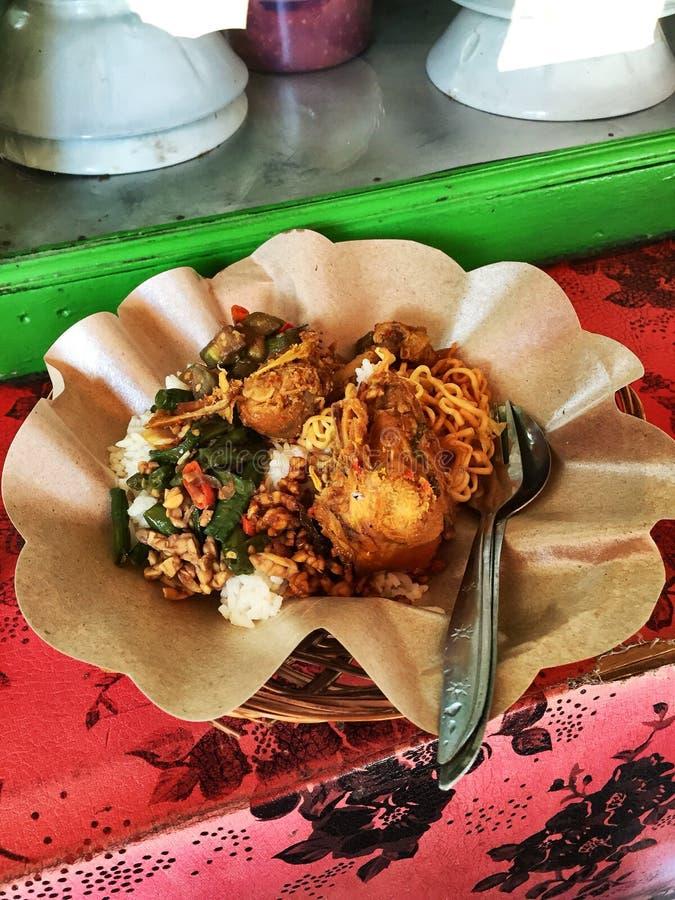 Comida de la calle de Bali imagen de archivo libre de regalías