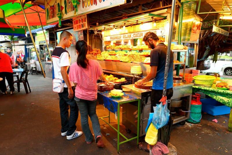 Comida de la calle en Malasia Penang imagenes de archivo