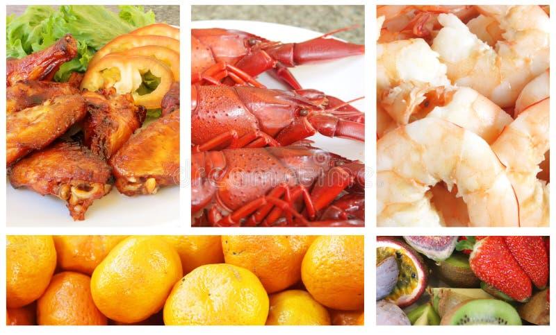 Comida de la comida fría imagen de archivo libre de regalías