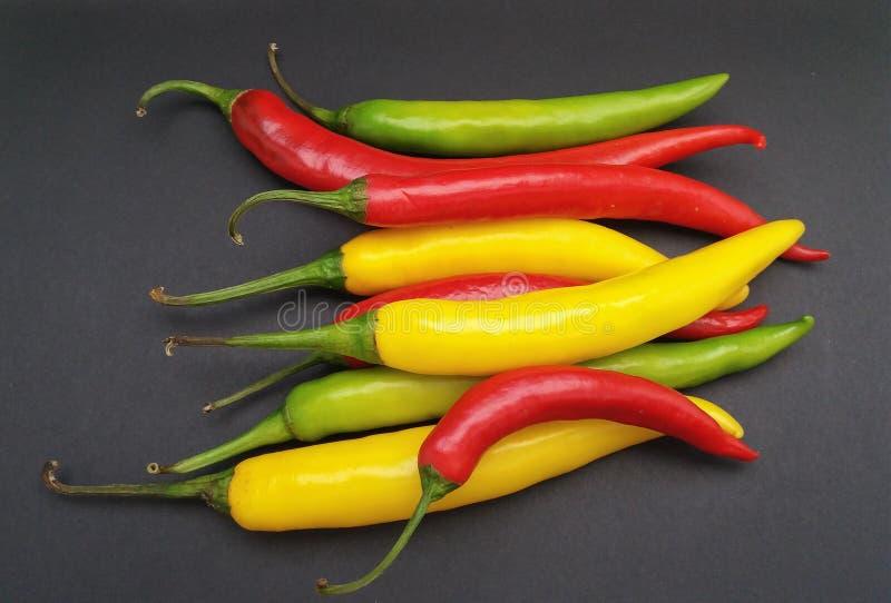 Comida de las verduras de la pimienta del chile picante imagen de archivo