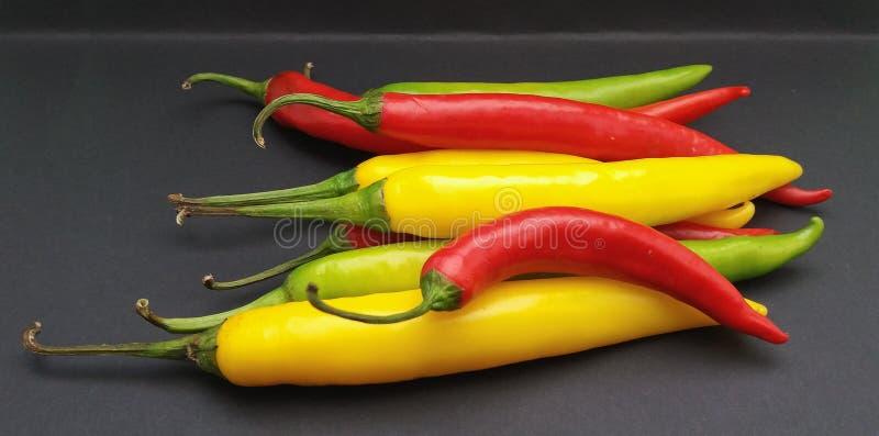 Comida de las verduras de la pimienta del chile picante fotografía de archivo libre de regalías