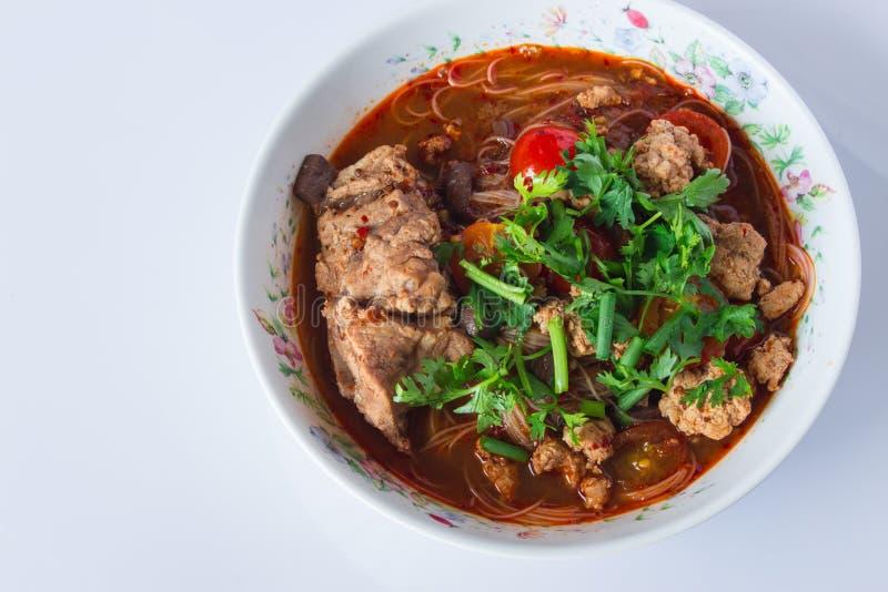 Comida de Tailandia imagen de archivo