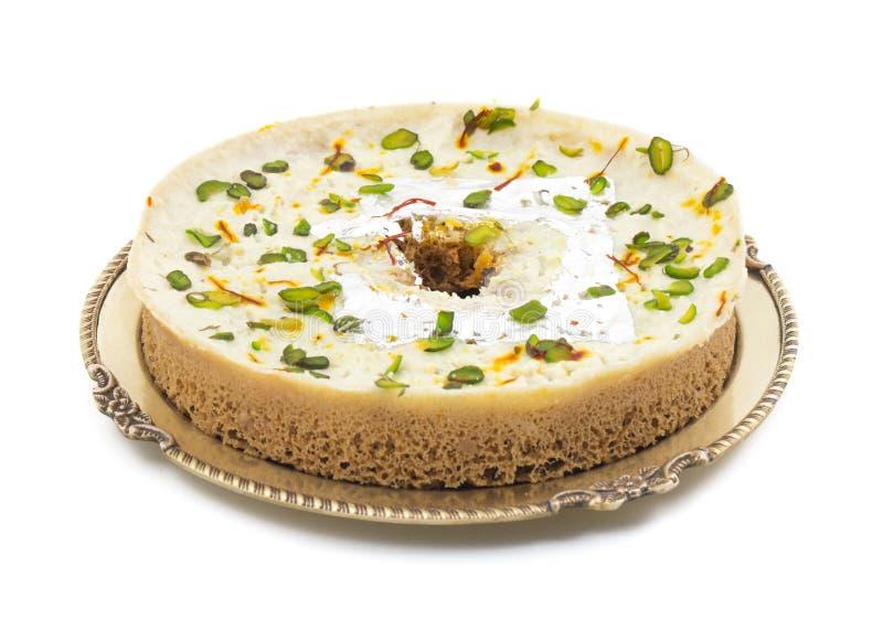 Comida del dulce de Ghewar fotografía de archivo