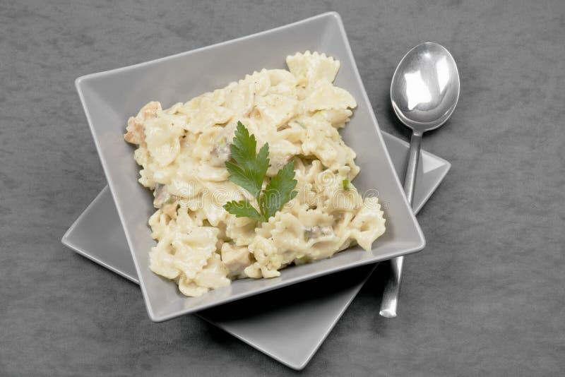 Comida del italiano de las pastas imagen de archivo libre de regalías