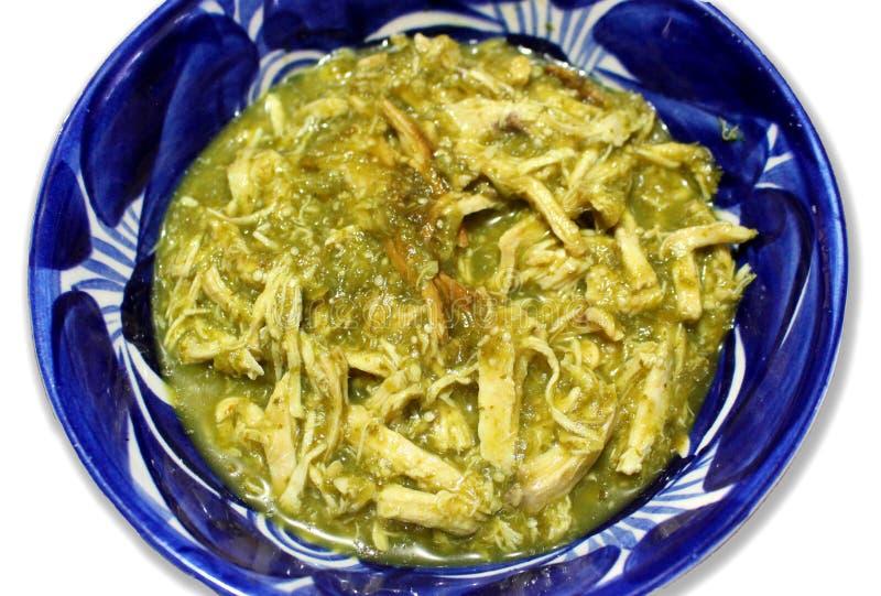 Comida del mexicano de Tinga imagen de archivo