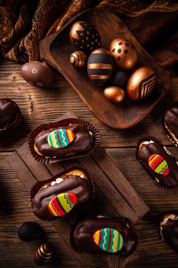 Comida del partido de Pascua fotos de archivo