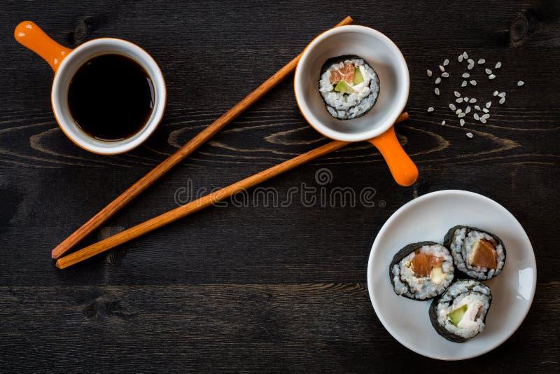 Comida del sushi imagenes de archivo