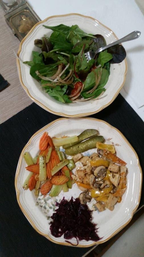 Comida del vegano fotos de archivo