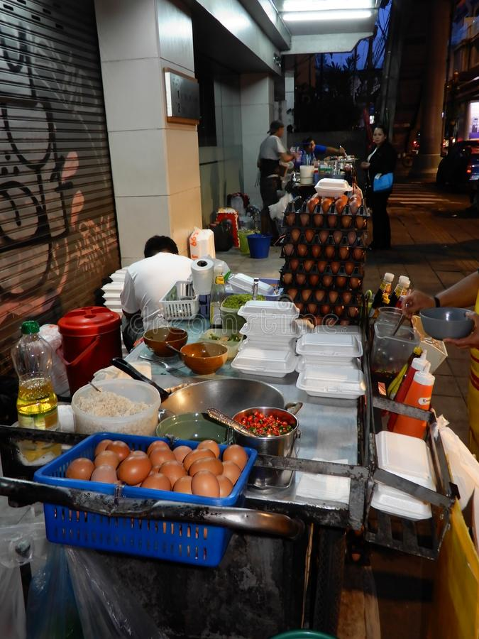 Comida en la calle fotografía de archivo libre de regalías