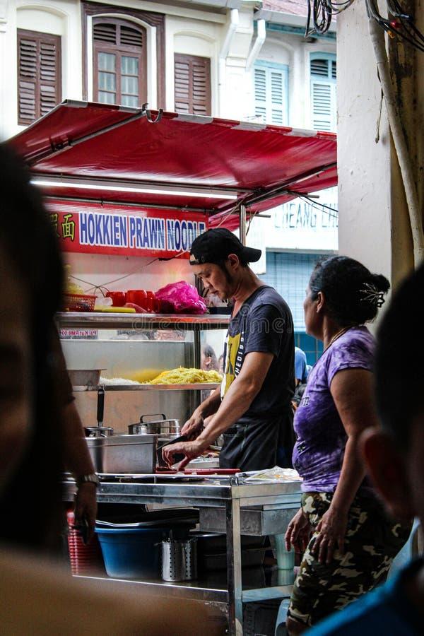 Comida famosa en Penang foto de archivo