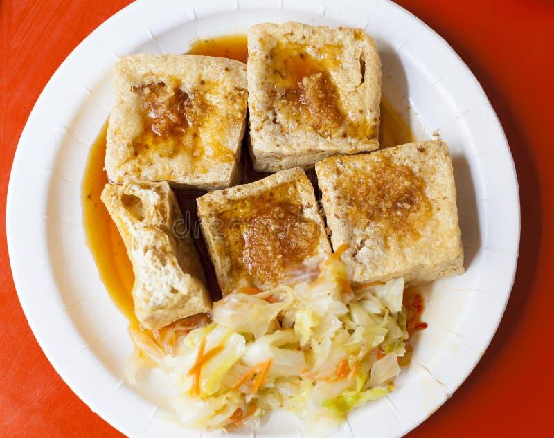 Comida famosa tradicional del chino y de Taiwán - queso de soja Stinky foto de archivo libre de regalías