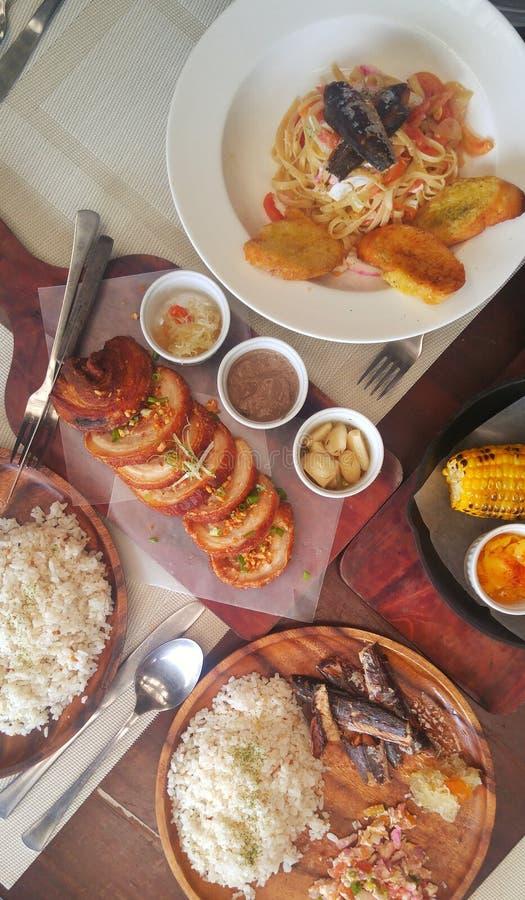 Comida filipina fotos de archivo libres de regalías