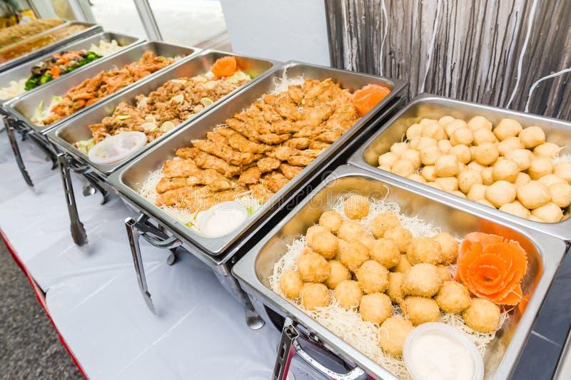 Comida fría china de la cocina asiática fotografía de archivo
